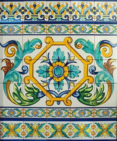 Cer mica art stica sevillana antonio gonzalez - Ceramica artistica sevillana ...
