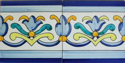 Cer mica art stica sevillana antonio gonzalez for Cenefas ceramica