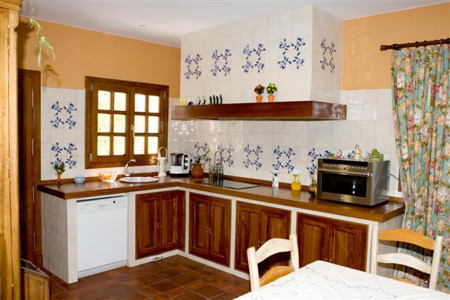 Cer mica art stica sevillana antonio gonzalez - Azulejos rusticos para cocinas ...